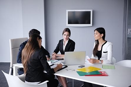 consultants preparing plan